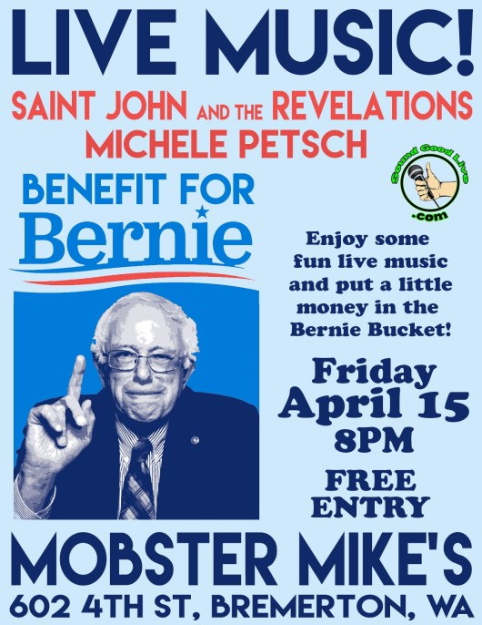 Saint John and the Revelations Bernie Sanders Benefit