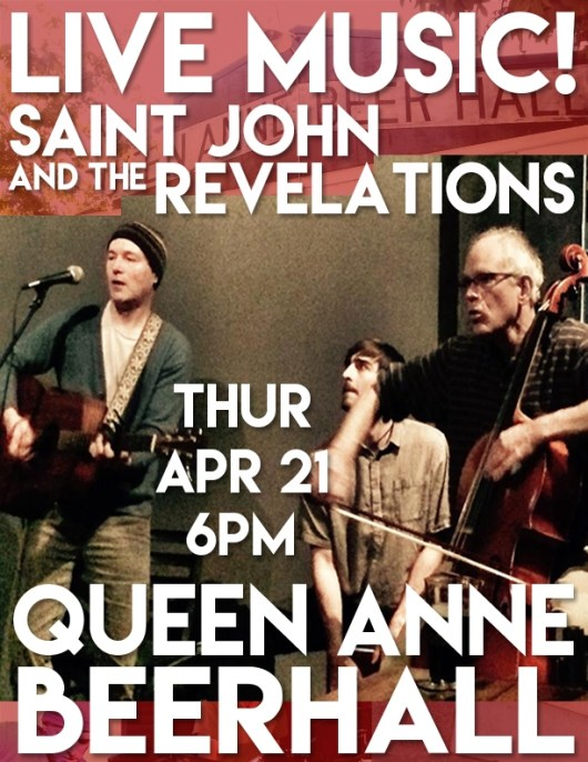 Saint John and the Revelations live at the Queen Anne Beerhall in Seattle WA