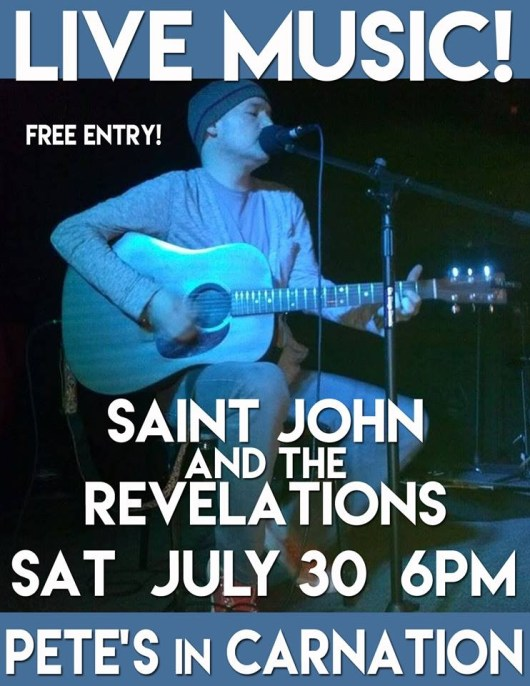 Saint John and the Revelations live at Pete's in Carnation
