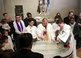 Baptêmes veillée pascale 2015