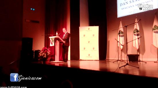 Dan Sandzaka u Sjenici - Sulejman Ugljanin 20.11.2015. / Sjenica