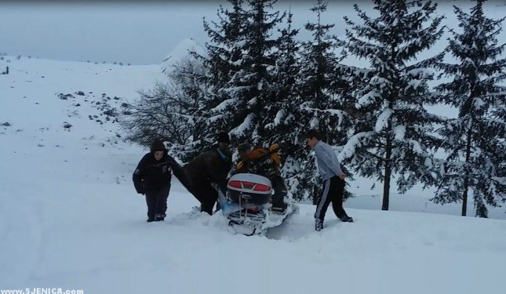 Gorska sluzba na Pesteri 2015