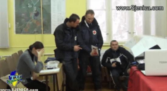 Gorska sluzba obuka u Sjenici