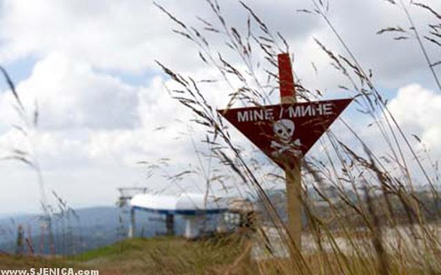 Kasetne bombe Mine - Sjenica