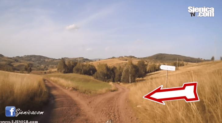 Putokaz do vidikovca Molitva - Sjenica 2015