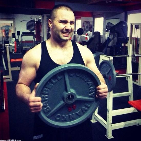 Sanel Papic trening