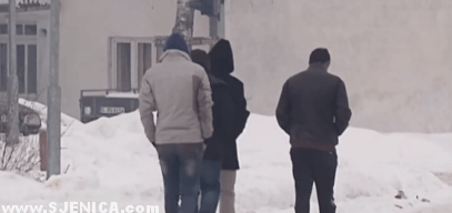 Azilanti u Sjenici 2015 / Januar