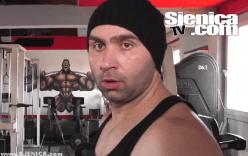Sanel Papic trenira / Sjenica / 21.01.2015.