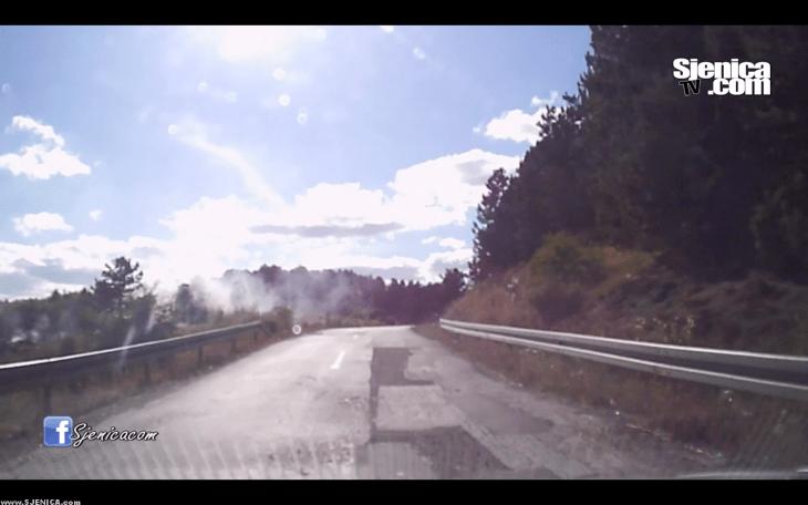 Put od Sjenice do Nove Varoši - Sjenica / Septembar 2015