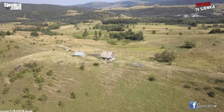 caricina iz vazduha - pester - Sjenica - avgust 2017