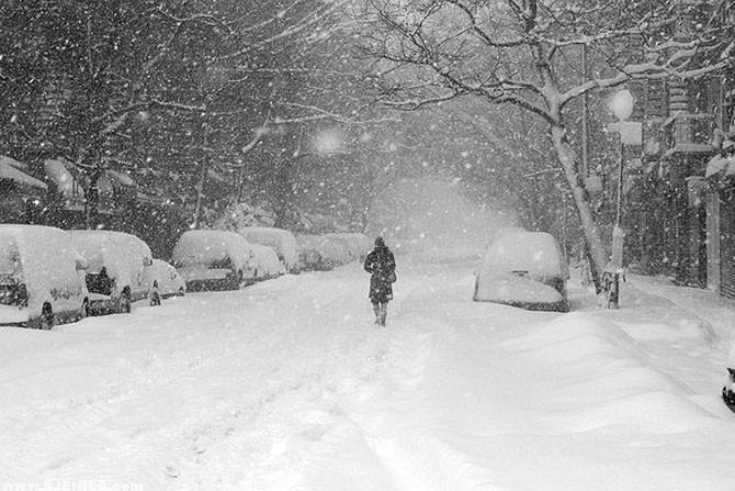 Sjenica snijeg