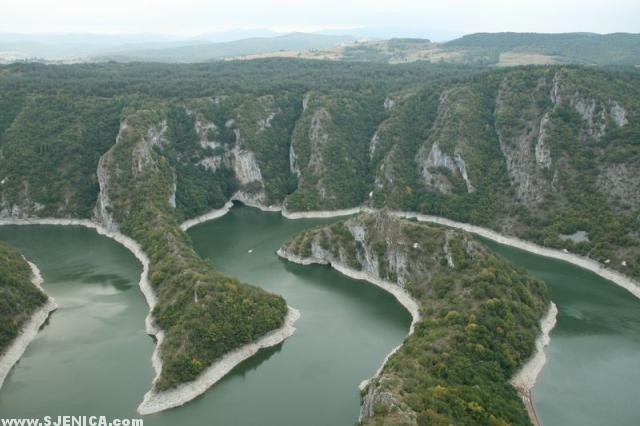 Sjenicko Jezero - pogled sa Vidikovca - www.Sjenica.com