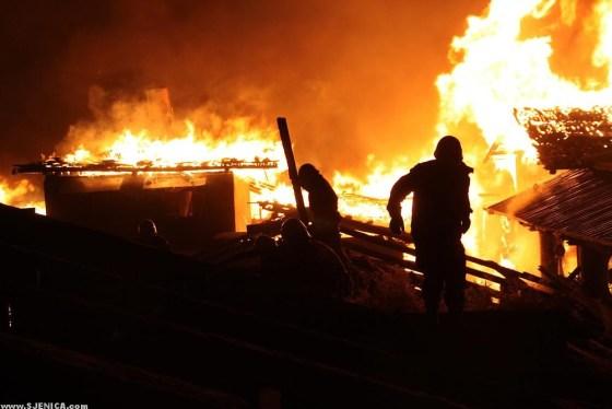 Vatra u selu