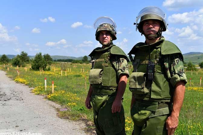 Vojska na Dubinju Aerodrom Sjenica