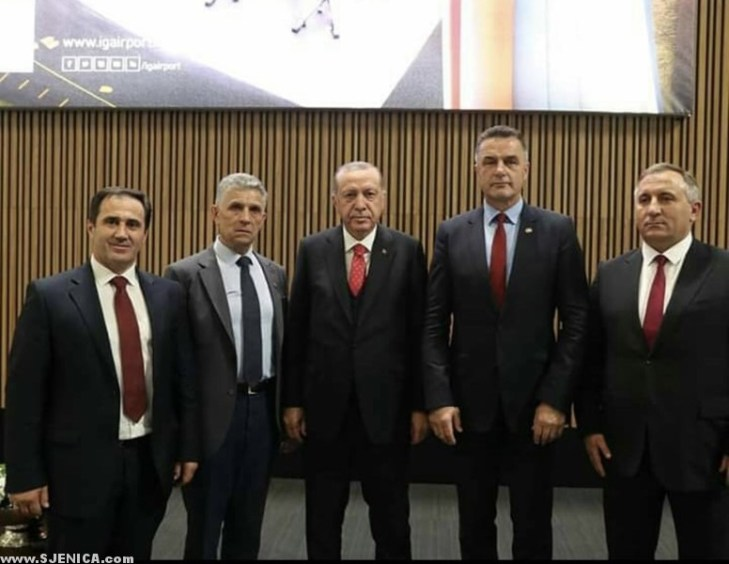 predsednici u Istanbulu - oktobar 2018 - sjenica