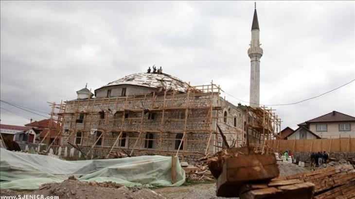 restauracija Sultan Valide dzamije
