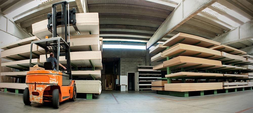 pipe plywood storage racks