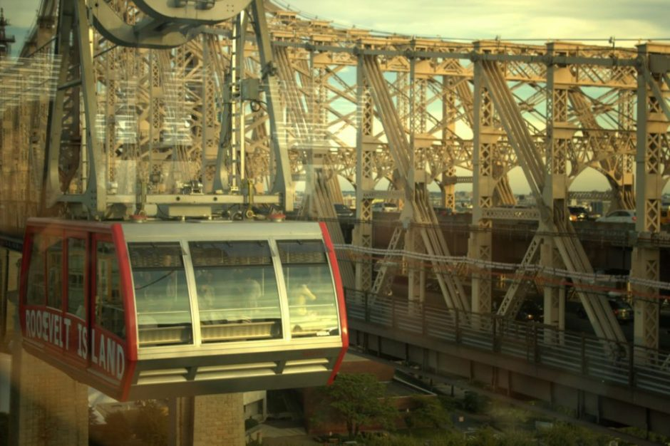 NYC roosevelt island tram view New York Beams Freedom Tower nice pictures mooie foto's uitzicht