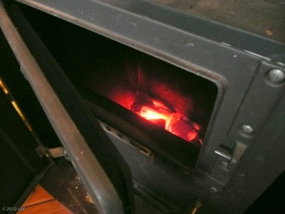 The spacious Kreuzberg apartment, which my new friend graciously shared with me, is heated by a wood and/or coal stove.