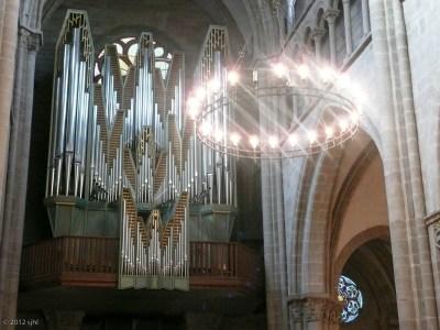 Didn't hear the organ . . . perhaps next time!