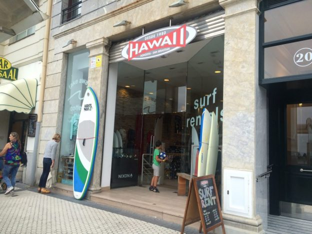 Hawaii in San Sebastian