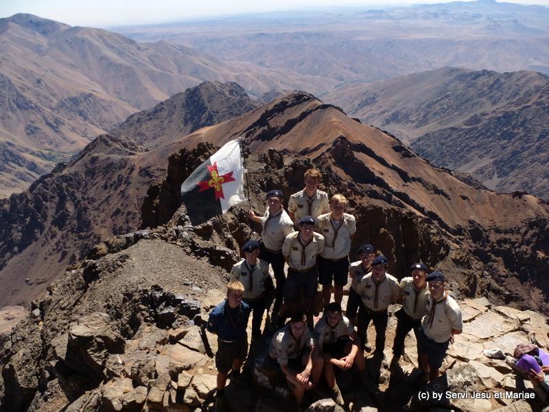 Auf dem Gipfel des Toubkal - 4167m