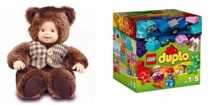Leksaker och barnartiklar
