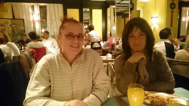 Carina och Lisa