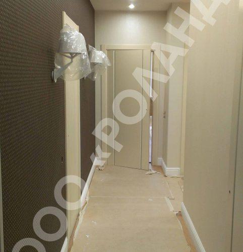Ремонт квартиры по дизайн проекту на Юмашева