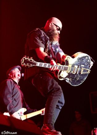 Tim Armstrong and Matt Freeman from Rancid
