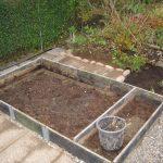 Anläggande av ny odlingsyta med pallkragar