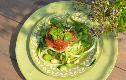 vegetariska pastarätter