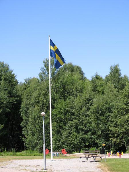 flaggstäng, flagga