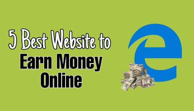 online paisa kamane ki website