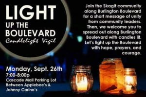 Light up the Blvd Vigil