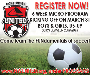 Northwest United FC Micro Program @ Whitmarsh Fields | Burlington | Washington | United States