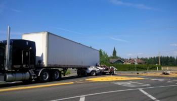 Updated: Fatal Log Truck Accident near Hamilton - Skagit