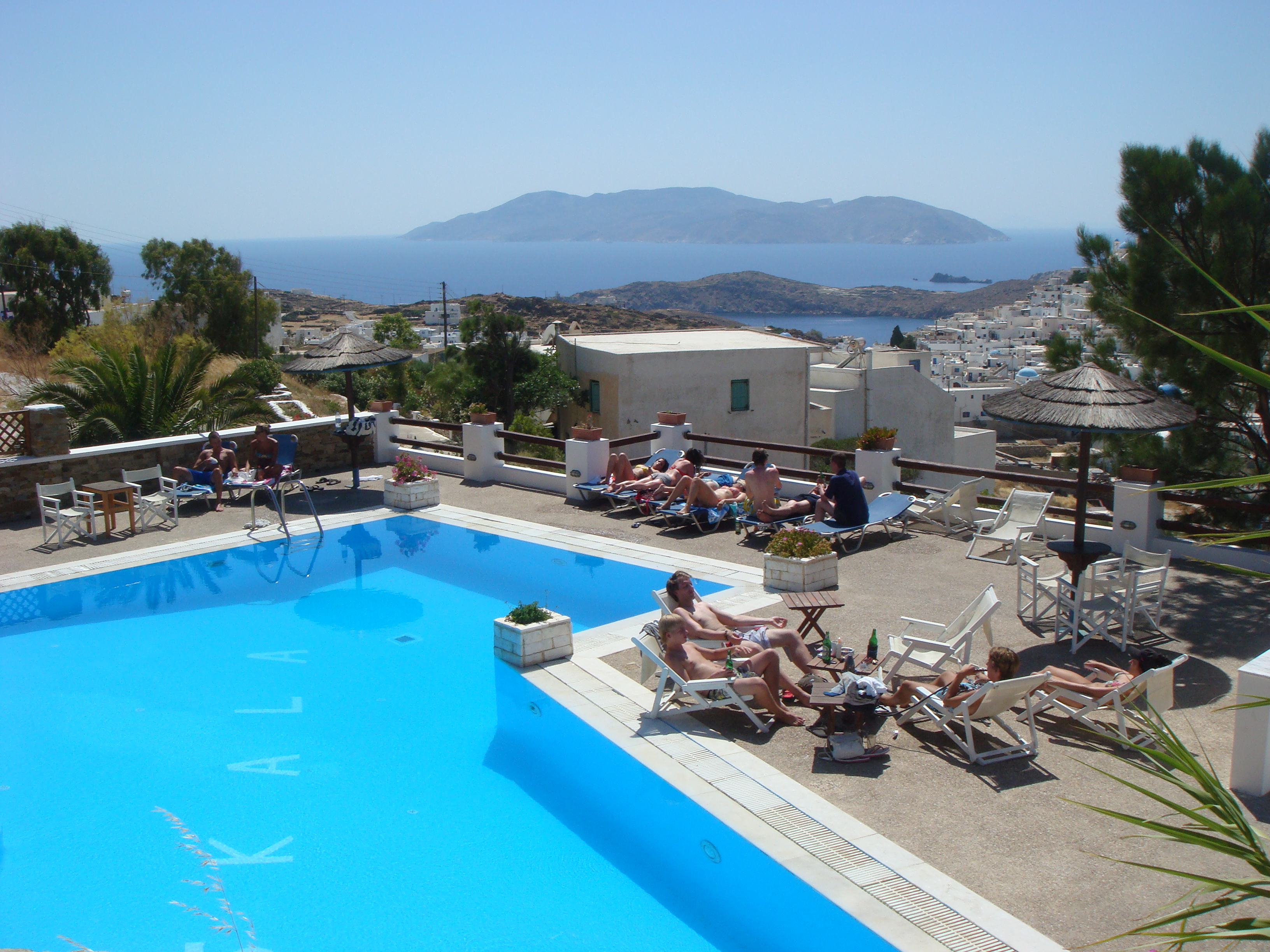 Skala Hotel Ios - Swimming pool area