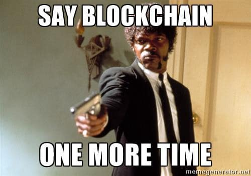 no more blockchain