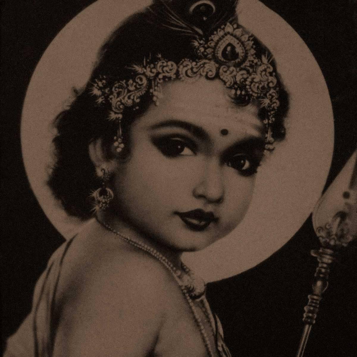 A painting of Lord Skanda as young Kumāran