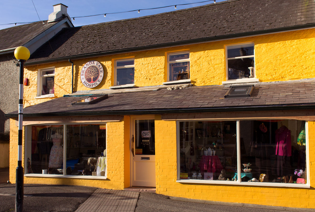 Our new charity shop in Newcastle Emlyn