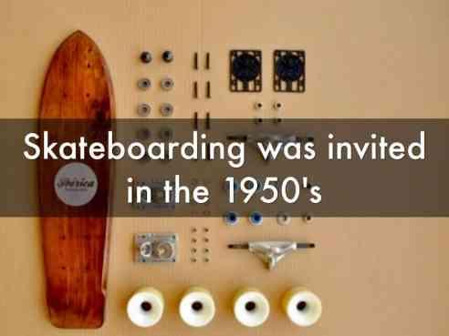 History of Skateboard