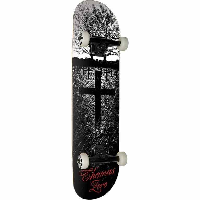 Zero Skateboards Jamie Thomas Life and Death Complete Skateboard