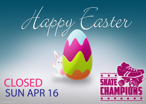 Closed Easter Sunday April 16th