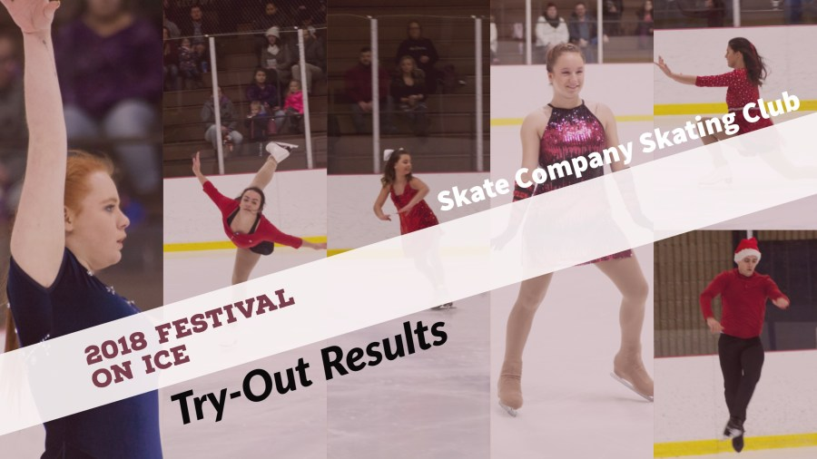 2018 Festival on Ice Try-out Results