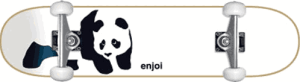 Enjoi Whitey Panda Complete Skateboards - best starter skateboards