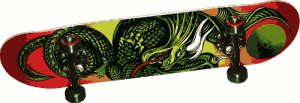 Golden Dragon Knight Dragon 2 Complete Skateboard - best skateboard brands for beginners