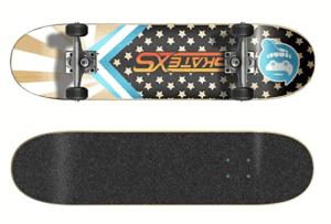 SkateXS Beginner Starboard Street Skateboard - best street skateboards
