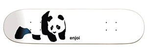 Enjoi Panda Logo R7 Skateboard Deck - blank skateboard decks