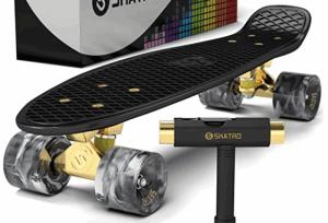 Skatro Mini Cruiser Skateboard - best complete skateboardsv